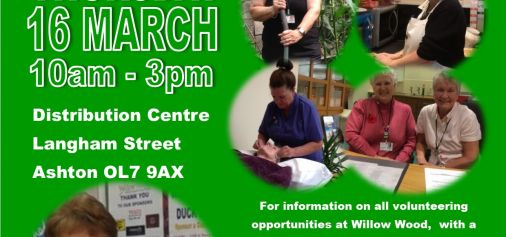 Sale and Volunteer Open Day at our...