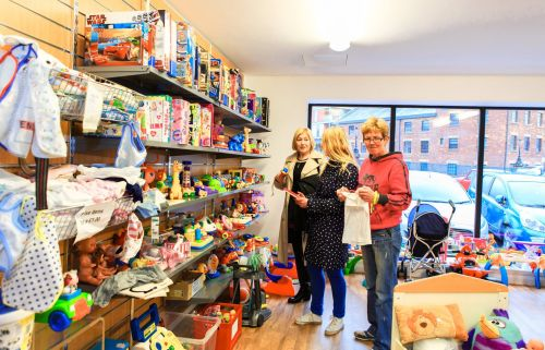 ... Baby And Children`s Shop At The PAD, Which Sells A Range Of High  Quality Donated Baby And Children`s Wear, Nursery Goods And Furniture,  Prams, ...