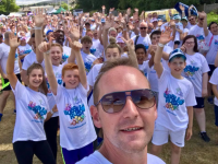 Family Fun Day at the Bubble Rush Village