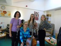 Manchester Camerata entertains at the Dementia Cafe