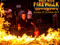 The Firewalk raises thousands for Willow Wood